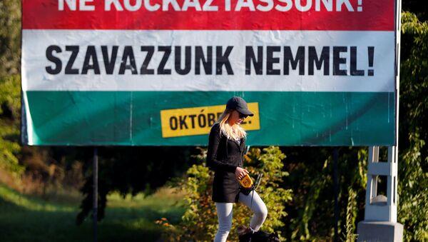 El referéndum en Hungría - Sputnik Mundo