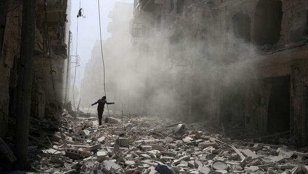 La situación en la ciudad siria de Alepo - Sputnik Mundo