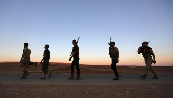 Los rebeldes en Siria - Sputnik Mundo