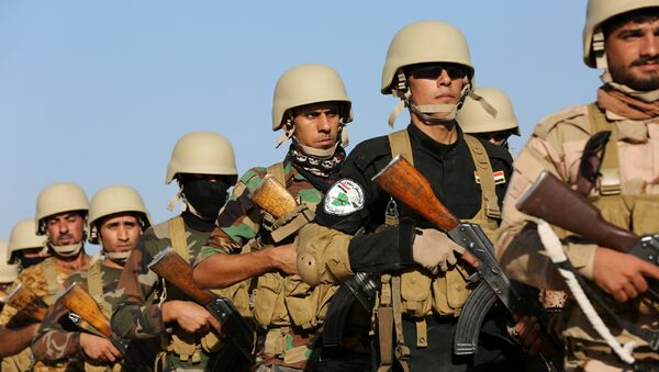 Soldados de fuerzas antiislamistas en Irak - Sputnik Mundo