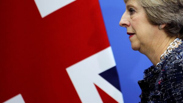 Theresa May, la primera ministra de Reino Unido - Sputnik Mundo