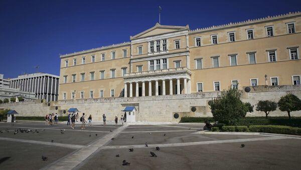Edificio del Parlamento Griego, Atenas - Sputnik Mundo