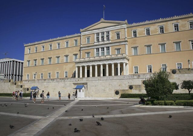 Edificio del Parlamento griego, Atenas