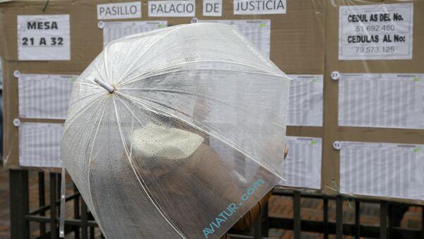 Votación para plebiscito en Colombia - Sputnik Mundo
