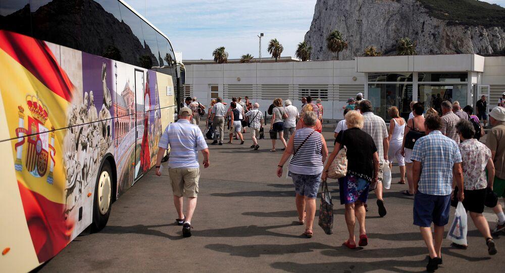 Los turistas en España