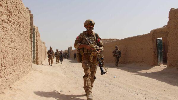 El Ejército afgano en la provincia de Helmand - Sputnik Mundo