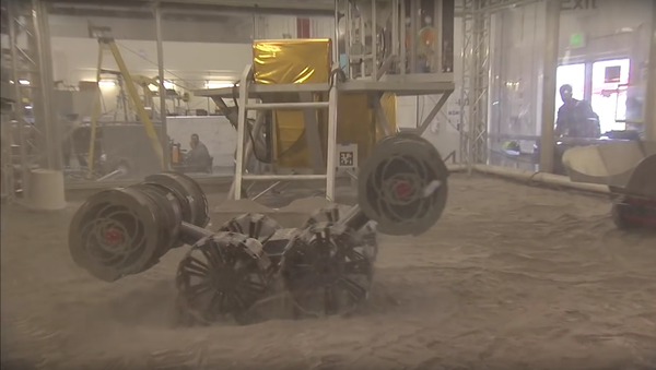 RASSOR, un nuevo vehículo no tripulado de la NASA - Sputnik Mundo