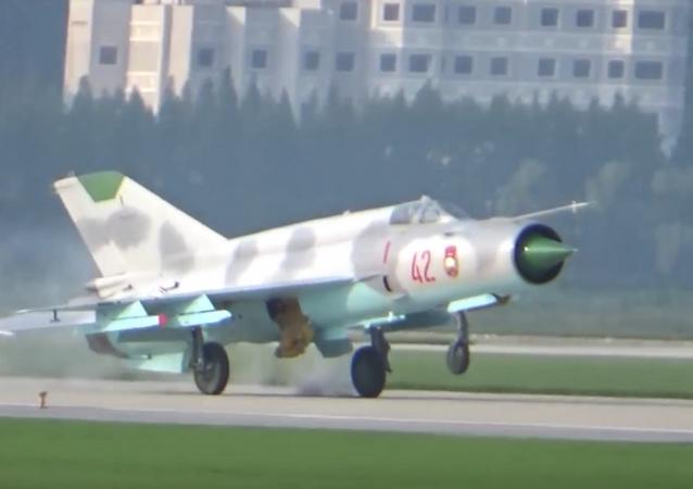 El primer espectáculo aéreo en Corea del Norte arruinado por error de un piloto (vídeo)