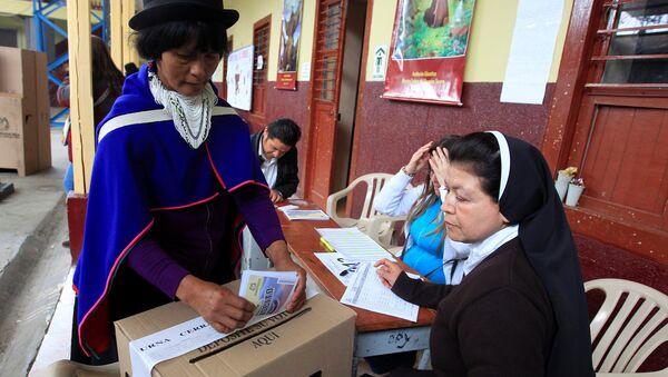 Plebiscito en Colombia - Sputnik Mundo