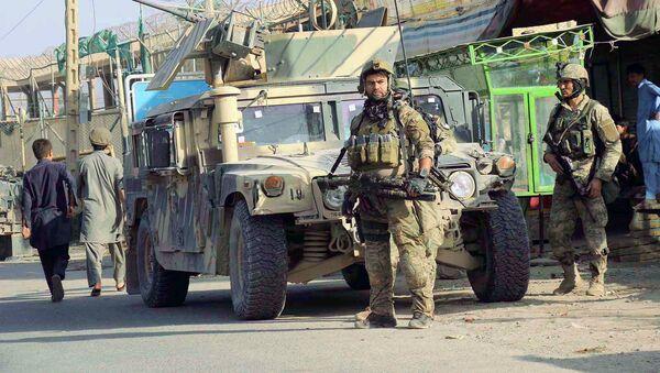 Las fuerzas de seguridad afganas en la ciudad de Kunduz - Sputnik Mundo