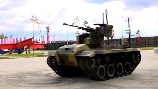 Robot militar ruso Nerejta - Sputnik Mundo