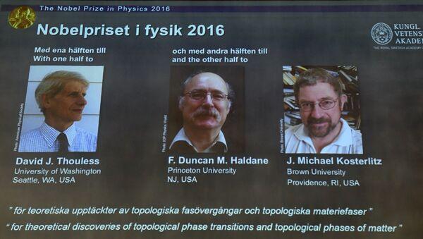 El Premio de Nobel de Física de 2016 - Sputnik Mundo