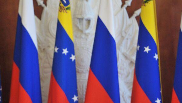 Las banderas de Rusia y Venezuela (archivo) - Sputnik Mundo