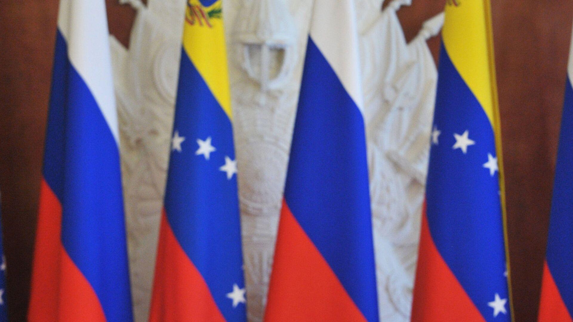 Las banderas de Rusia y Venezuela - Sputnik Mundo, 1920, 31.03.2021