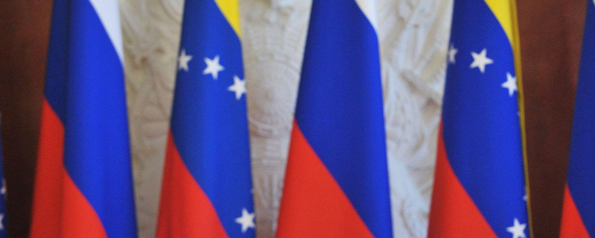 Las banderas de Rusia y Venezuela - Sputnik Mundo, 1920, 23.06.2021