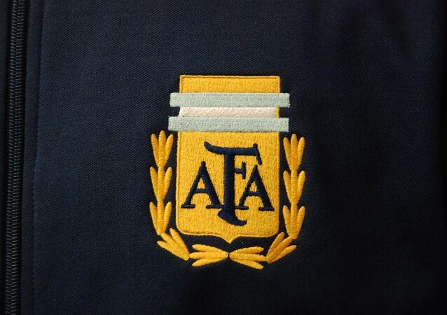 El logo de la Asociación del Fútbol Argentino