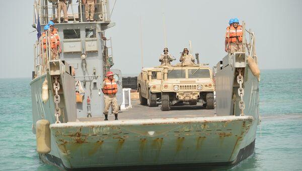 Ejercicios militares de la armada saudí (archivo) - Sputnik Mundo