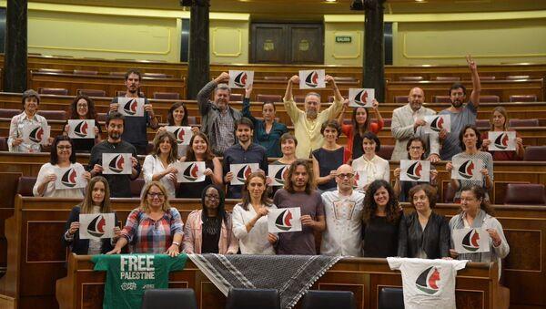 Treinta diputados envían su apoyo a la Flotilla - Sputnik Mundo