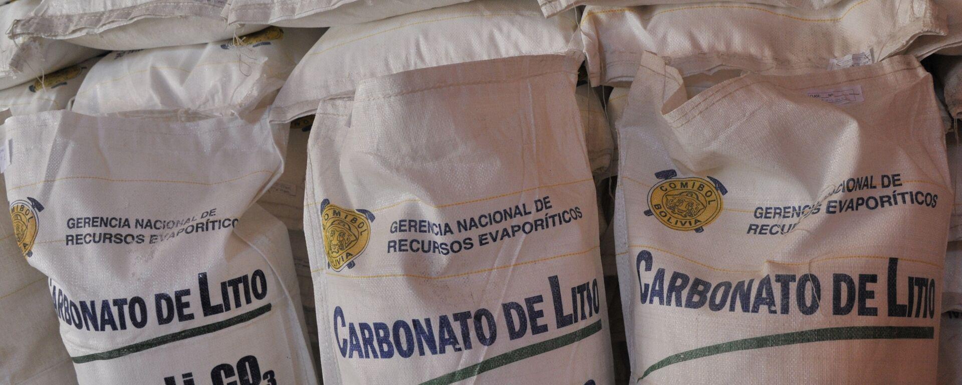 Carbonato de litio de Bolivia - Sputnik Mundo, 1920, 11.03.2021