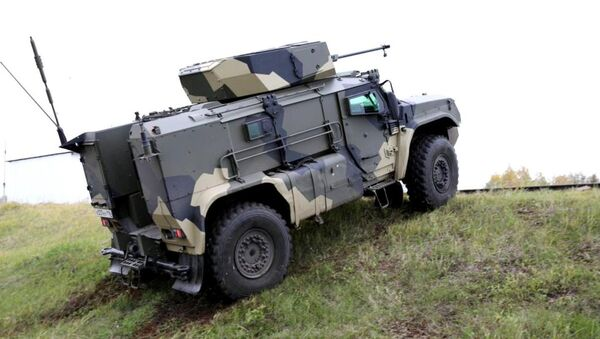 Vehículo blindado K4386 'Tayfún-VDV' - Sputnik Mundo