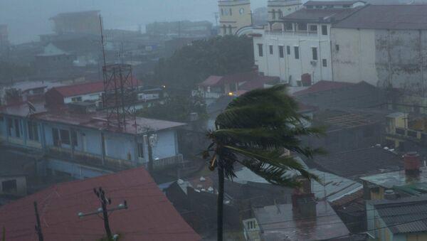 Consecuencias del paso del huracán Matthew - Sputnik Mundo