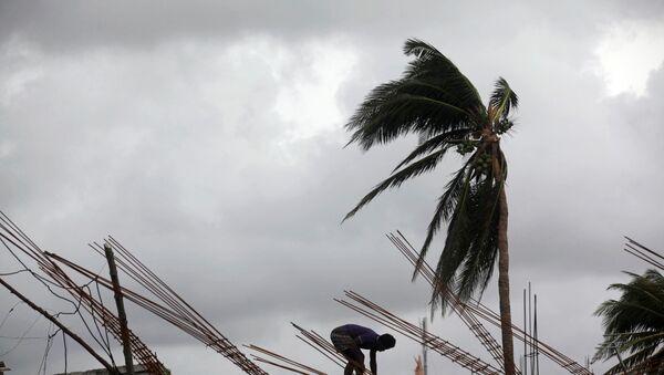 Huracán Matthew en Haití - Sputnik Mundo