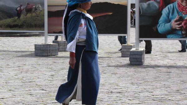 Mujer en Quito, Ecuador (archivo) - Sputnik Mundo