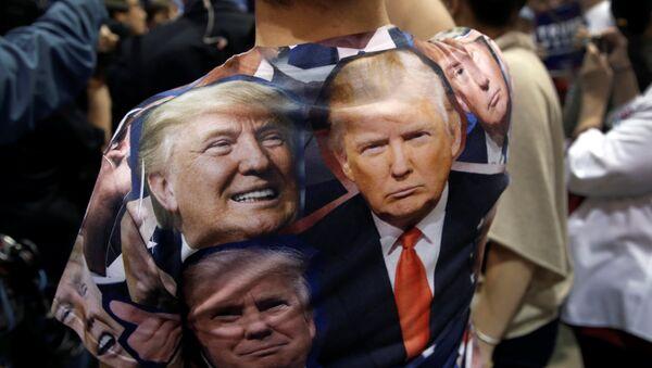Un partidario de Donald Trump - Sputnik Mundo