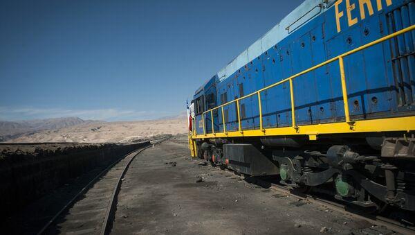 Un tren entre Bolivia y Chile - Sputnik Mundo