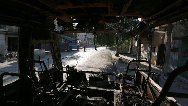 Situación en la ciudad de Alepo en Siria - Sputnik Mundo