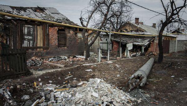 Situación en la región de Petróvskoe en Donbás - Sputnik Mundo