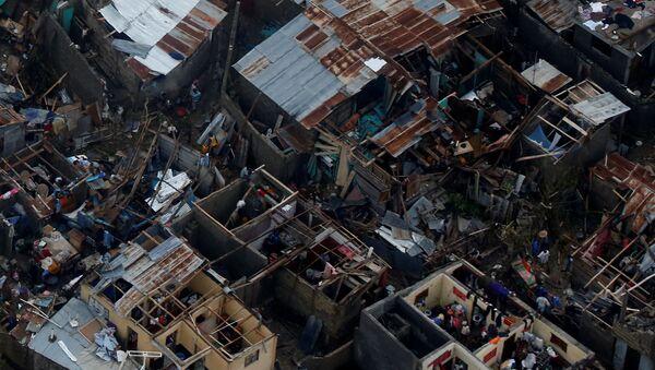 Las consecuencias del huracán Matthew en Haití - Sputnik Mundo