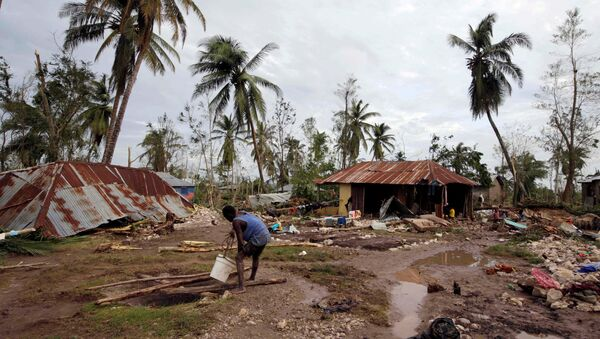 Haití después del huracán Matthew - Sputnik Mundo
