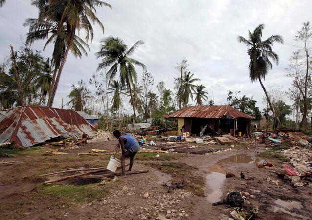 Haití después del huracán Matthew