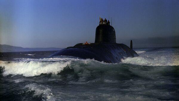 Un submarino nuclear (archivo) - Sputnik Mundo