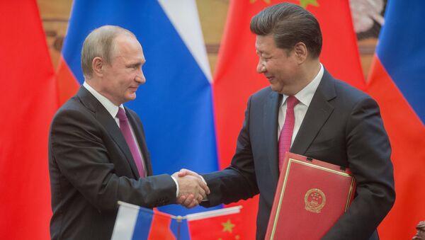 Los líderes de Rusia y China - Sputnik Mundo