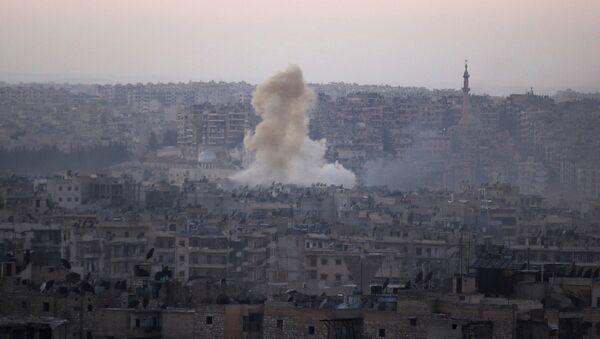 Situación en Siria, Alepo - Sputnik Mundo