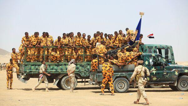 Los soldados del ejército de Yemen - Sputnik Mundo