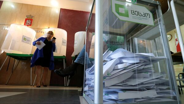 Парламентские выборы в Грузии - Sputnik Mundo