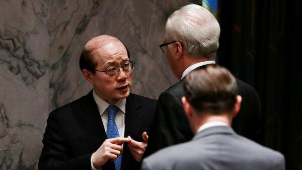 Liu Jieyi, embajador chino a la ONU - Sputnik Mundo
