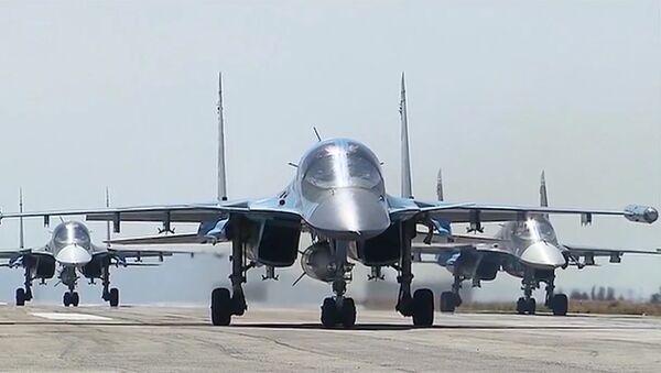 Aviación rusa en Siria - Sputnik Mundo