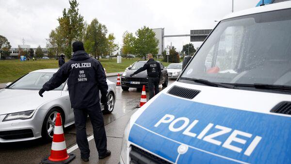 La policía de Alemania - Sputnik Mundo
