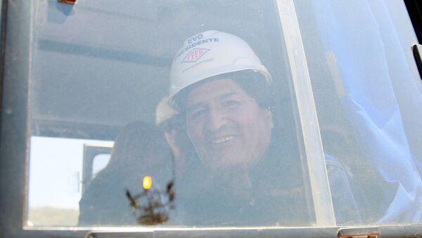 Evo Morales, el presidente de Bolivia - Sputnik Mundo