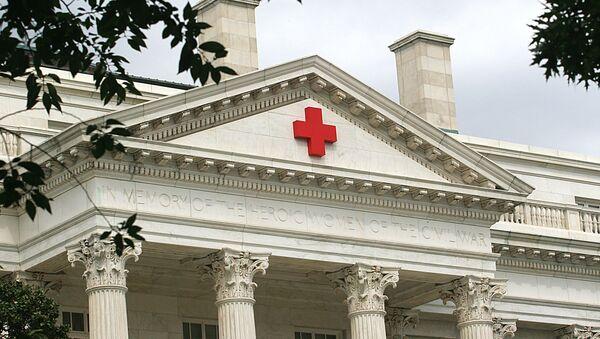 The American Red Cross building - Sputnik Mundo