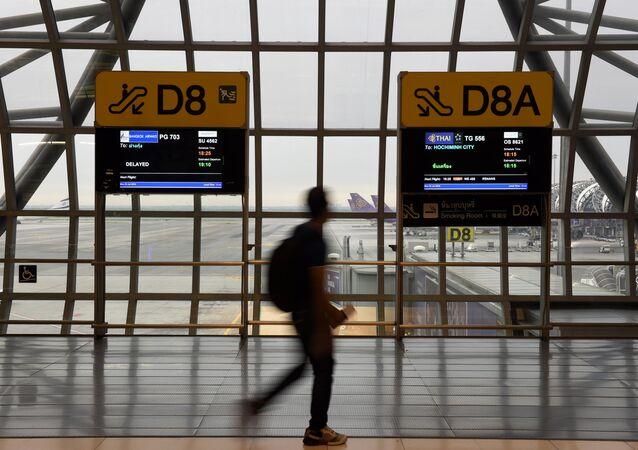 El aeropuerto tailandés de Suvarnabhumi
