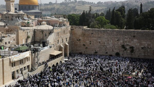 Muro de las Lamentaciones en la Ciudad Vieja de Jerusalén - Sputnik Mundo