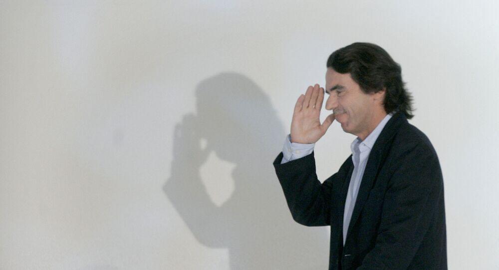 José María Aznar, ex primer ministro de España