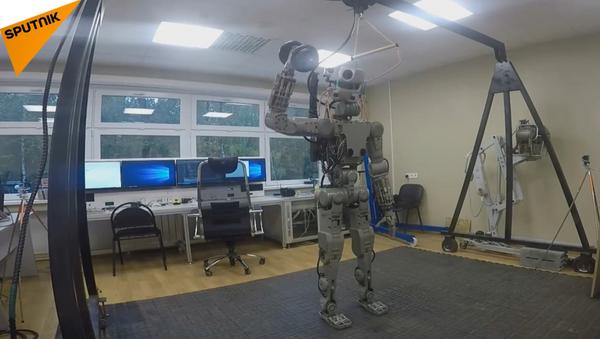 Nuevo robot androide Fedor - Sputnik Mundo