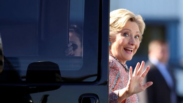 Hillary Clinton, candidata presidencial demócrata de EEUU - Sputnik Mundo