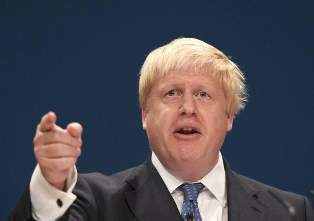 Boris Johnson, Exteriores del Reino Unido